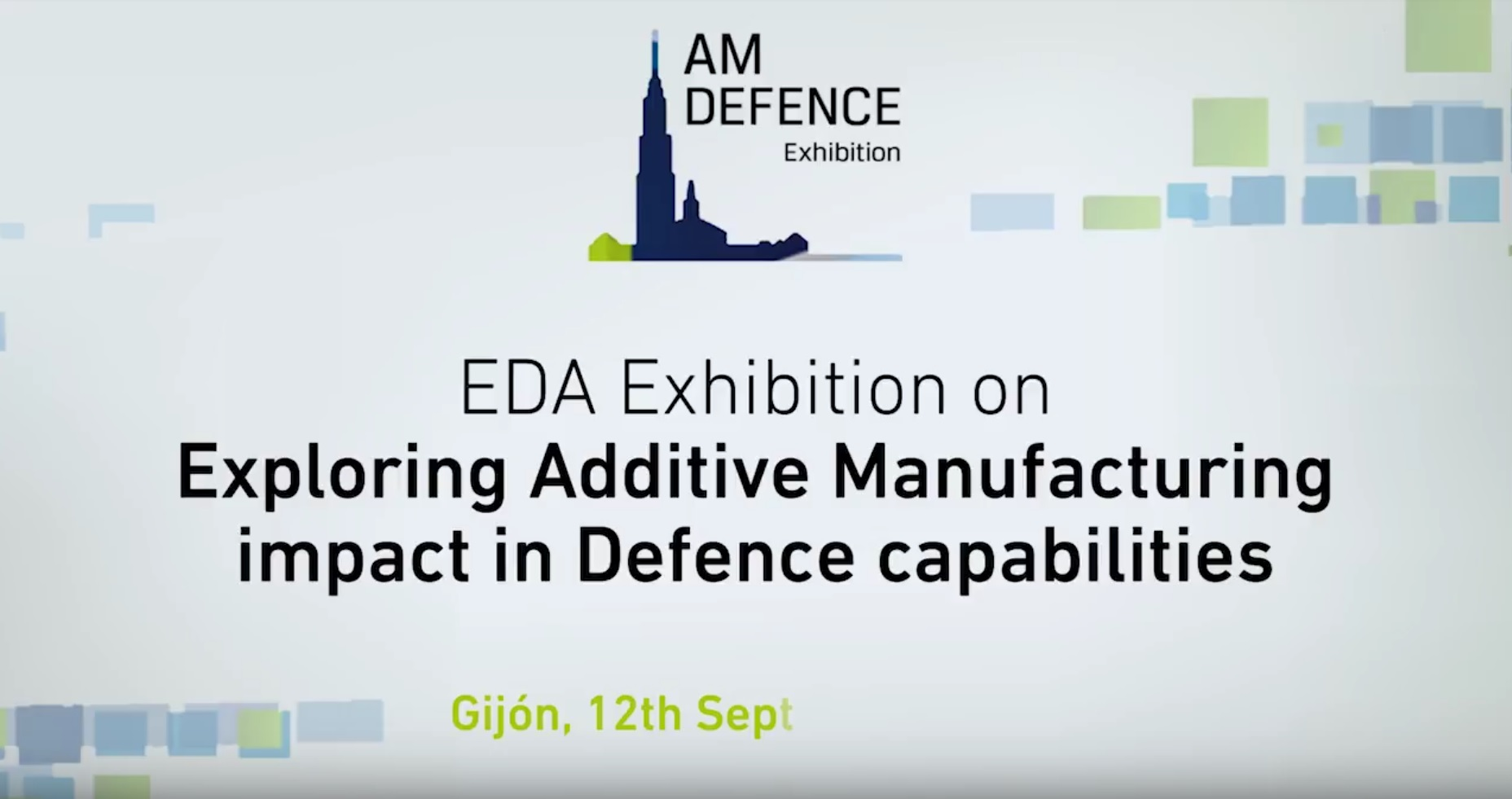 """AWGE Tecnologies attended the EDA Exhibition """"Exploring Additive Manufacturing impact in Defence capabilities"""""""