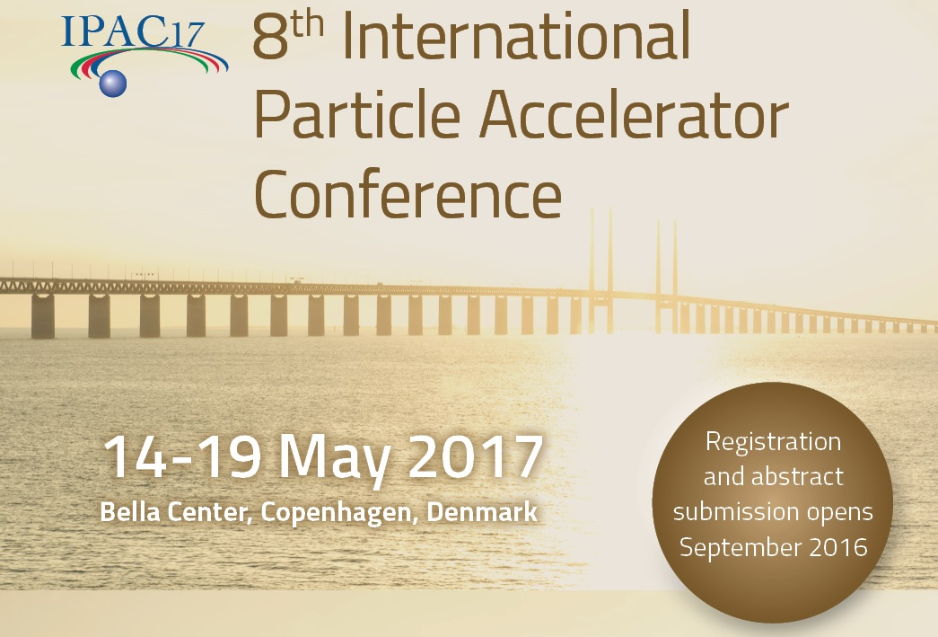 AWGE Technologies  attended the 8th International Particle Accelerator Conference (14-19 May 2017 / Copenhagen)